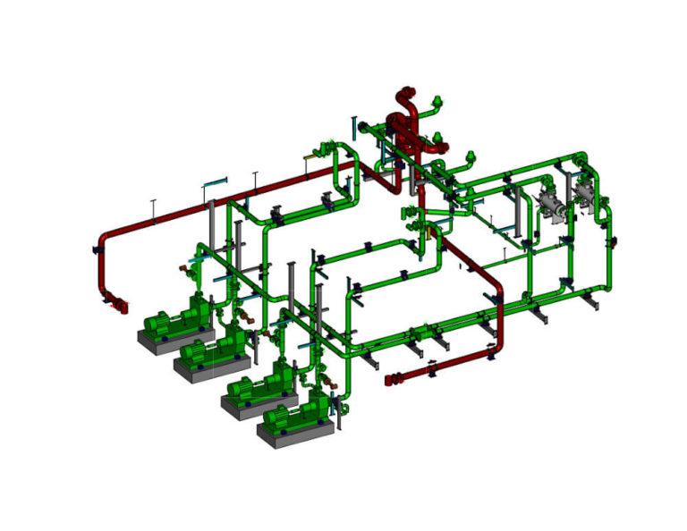 projektowanie instalacji przemysłowych z TWS